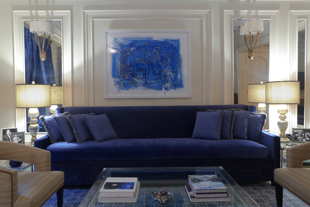New York City Townhouse, living room by Vanessa Rome