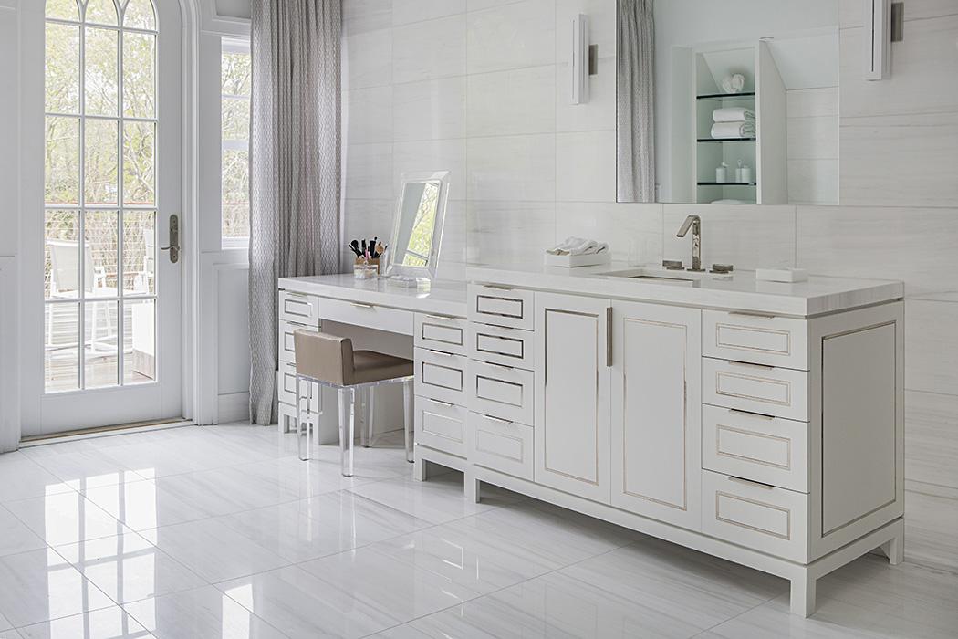 Interior design for Southampton master bath