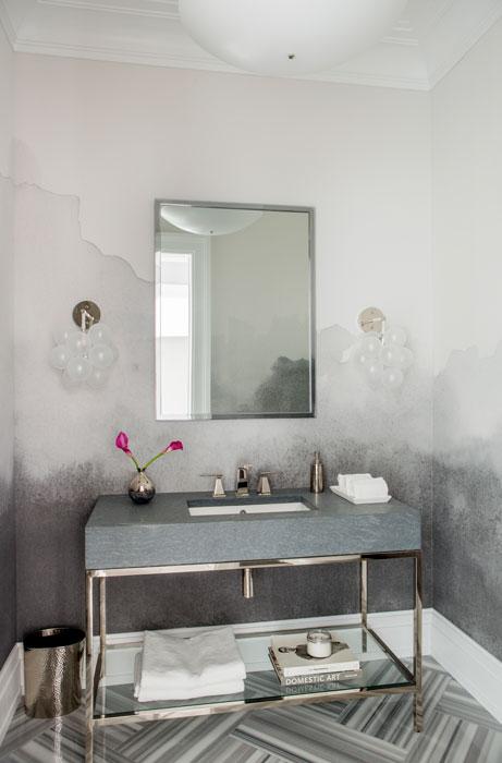 Watermill residence powder room