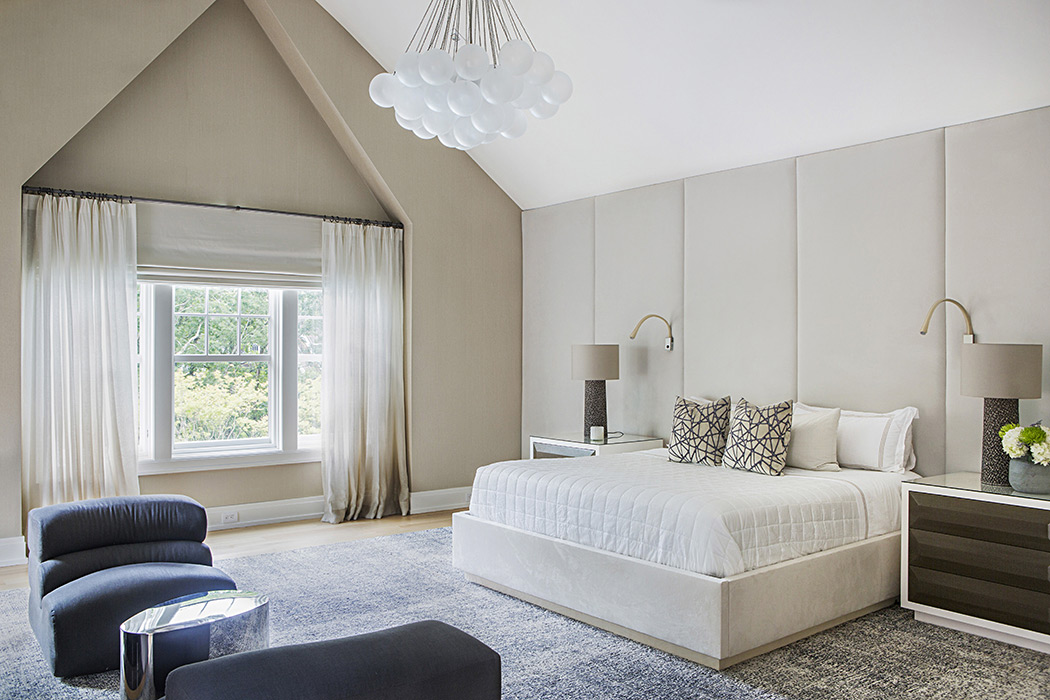 Interior design for Southampton bedroom