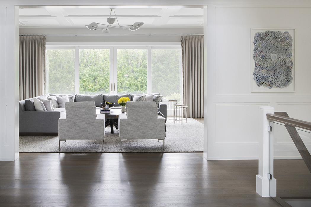 Interior design for Watermill NY home