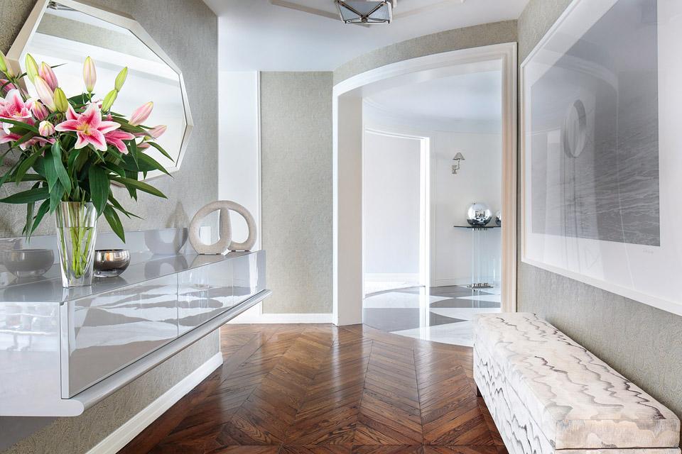 Madison Avenue apartment, interior design by Vanuess Rome Interiors