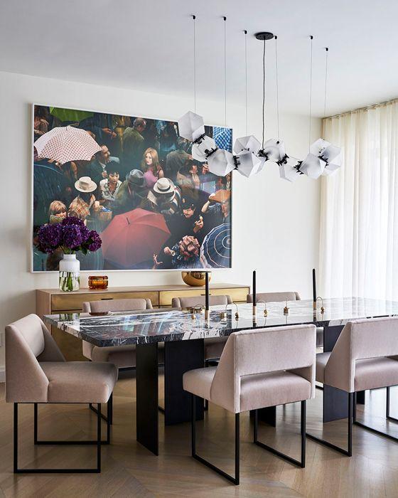 Chelsea Dining room interior design