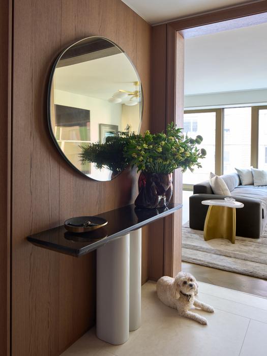 Foyer design in Chelsea