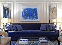 New York City Townhouse designed by Vanessa Rome Interiors