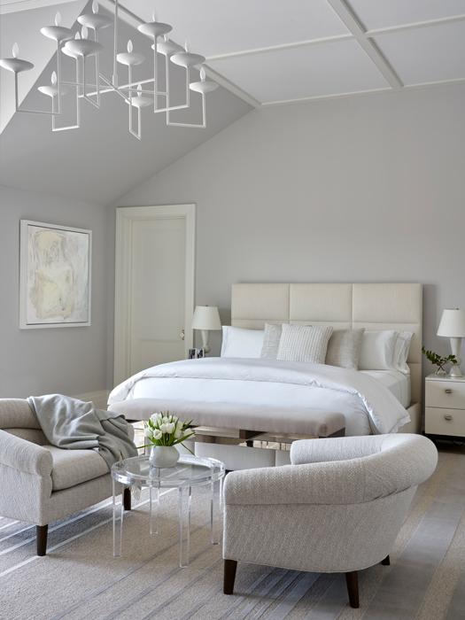 Bedroom -Sagaponack Interior Design by Vannessa Rome