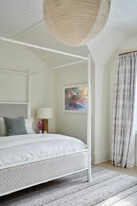 Bedroom - Sagaponack Interior Design by Vannessa Rome