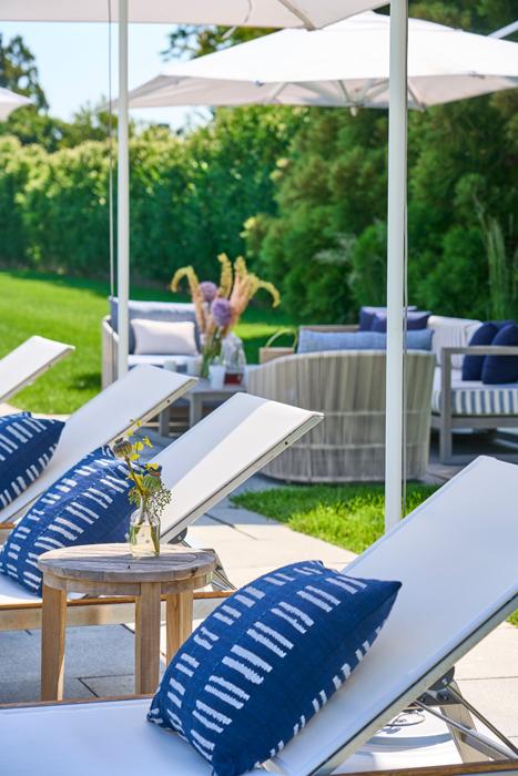 Outdoor furnishings - Sagaponack Interior Design by Vannessa Rome