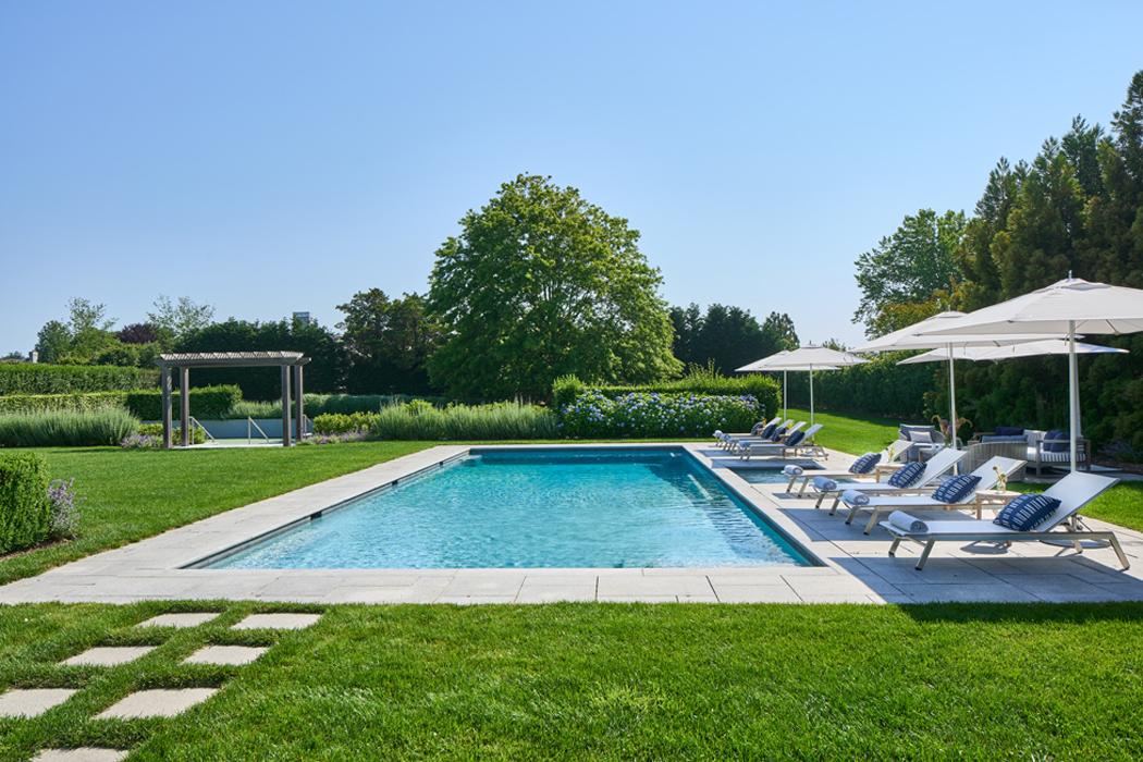 Pool - Sagaponack Interior Design by Vannessa Rome